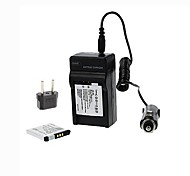 ismartdigi-nb-11l peut x2 (680mAh, 3.7v) la batterie de l'appareil photo (x2) + prise + ue chargeur de voiture pour canon ixus125 240 245hs A2400