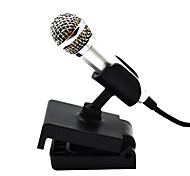 Creative Mini Condenser Microphone With Stand For Singing Recording