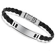 Z&X®  Fashion Personality Joker  Black  Smooth Surface Ms Bracelet