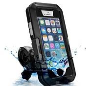 moto / suporte de bicicleta caso à prova de poeira à prova de choque à prova d'água para iPhone 5 / 5s