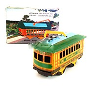 Tin Old Tram Wind-Up Toys for Collection