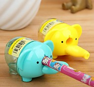 Elephant Shaped Manual Pencil Sharpener(Random Color)