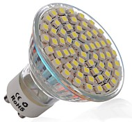 3W GU10 Spot LED MR16 60 SMD 3528 270 lm Blanc Froid AC 110-130 V