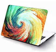 Water Colorful Vortex Design Full-Body Protective Plastic Case for 11-inch/13-inch New MacBook Air