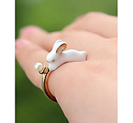 Fashion Cute Rabbite Pearl for Women ,Men Jewelry Gift