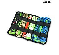 L Size Lapped Type Style Portable Storage Organizer Bag for iPhone/Samsung Cables Earphone Accessories Flash Drive