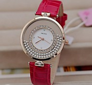 Women's Fashion Activity Scattered Drill Watches(Assorted Colors)