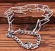 Metal Chain Teach Dogs Collars for Pets Fierce Dogs