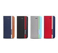 TORROS®Luxury Premium Design Stand PU Leather Case with Strap and Sticker for iPhone5 / 5SAssorted Colors)