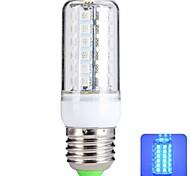 Bombillas LED de Mazorca T E26/E27 6W 48 SMD 5050 540 LM Azul AC 100-240 V