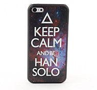 Keep Calm Style Protective Back Case for iPhone 5C
