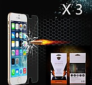 3 pcs Explosion Proof Front Screen Protector for iPhone 6S/6