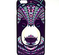 Ink Leopard Pattern Pattern Hard Case Cover for iPhone 6