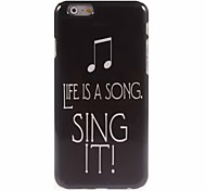 Sing It Design Aluminum Hard Case for iPhone 6 Plus