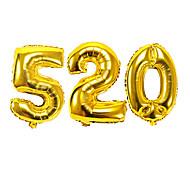 16 pollici 520 ti amo giorno di festa di compleanno palloncino di san valentino membrana di alluminio