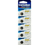 Camelion 3V CR1220 Lithium Button Battery (5pcs)