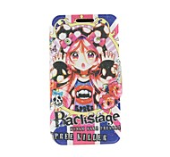 Kinston Fantasy Girl Pattern PU Leather Full Body Cover with Stand for iPhone 6