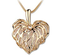 Love Leaves Zircon Sweater Is Your Hollow Out Gold Chain