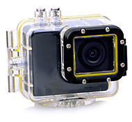 HD1080P - F28B Wide Angle Mini Waterproof Sports Gopro FPV Camera 1/4 Inch Color CMOS Black