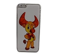 Cute Cow Plastic Hard Back Cover for iPhone 6