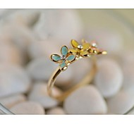 Lureme®Fashion New Style Crystals Multicolor Daisy Shape Ring