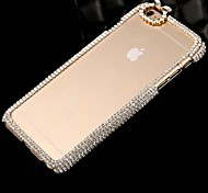 Fashion Diamond PC Hard Case for iPhone 6 Plus