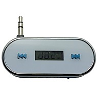 3.5mm FM Transmitter für iPhone 4 4S 5s 6 Plus Samsung Galaxy S3 S4 S5