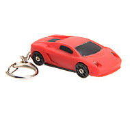 Cartoon Car LED Light with Sound Effects Keychain