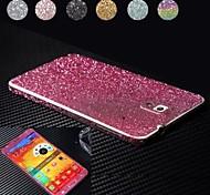 glänzende Diamant-Pulver Design Ganzkörper-Schutzfolie für Samsung Galaxy Note 3 (farblich sortiert)