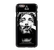 Moustache Design Aluminum Hard Case for iPhone 6