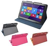 basamento originale cuoio dell'unità di elaborazione protegge la copertura di caso per un tablet pc cube iWork 10 u100gt