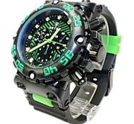 Men's Sporty Analog Plastic Band Quartz Analog Wrist Watch(Assorted Colors) Cool Watch Unique Watch