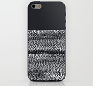 Black Stripes Pattern hard Case for iPhone 6