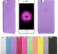 vormor® ultradünnen bereiften 0.3mm Abdeckung für iphone 6 (verschiedene Farben)