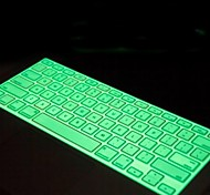 "multicolor noite luminosa teclado de silicone pele macia capa para Apple MacBook Pro 13 ""15"" 17 ""nos modelo"