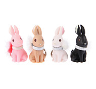 4PCS Noble Rabbit with Necklet Key Chain Novelty Toys
