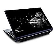 """piano73 padrão laptop adesivo de pele protetor para 15.6 """"laptop"""