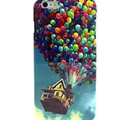 Coloured Balloon Pattern TPU Soft Case for iPhone 6