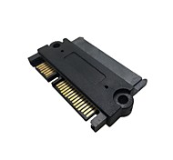 "3.5""  2.5inch SATA 22Pin 7+15 Male to SATA 22P Female Extension Convertor Adapter"