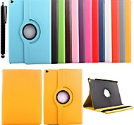 KARZEA® 360 Degree Rotating PU Leather Case with Stand and Stylus for iPad Air 2/iPad 6 (Assorted Colors)