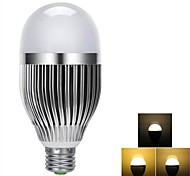 Bombillas LED de Globo Regulable / Control Remoto E26/E27 9W 24 SMD 5730 100-900 LM Blanco Cálido AC 85-265 V