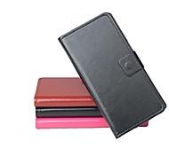 vendita calda cassa di cuoio dell'unità di elaborazione del cuoio di vibrazione 100% per Explay rio sinistra a destra smartphone a 3 colori