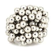 n35 DIY 3mm runden Neodym-Magneten Silber 125 Stück