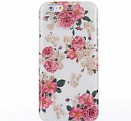 iphone 6 / 6S kompatibel Blumenmuster zurück Cover / Case