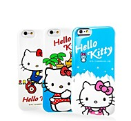 X-DOIRA Ultra-Thin Cell Phone Sets Lovely Soft Glue Following Hello Kitty for IPhone 6 4.7