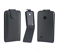 Protective PU Leather Magnetic Vertical Flip Case Cover Shell Protector for Nokia N530
