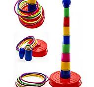 красочные метание колец в цель кольцо жеребьевка игра детский