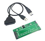 "SATA-Adapter USB-3.0-Kabel für ASUS UX21 UX31 EP121 SanDisk ADATA XM11 SSD 2.5 ""3.5"""