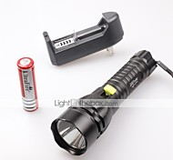Others LED Flashlights / Handheld Flashlights 5 Mode 2400 Lumens 18650 Waterproof LED Cree XM-L2 T6Camping/Hiking/Caving / Everyday Use /