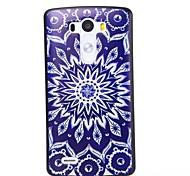 Blue and White Porcelain Pattern Plastic Hard Case for LG G3